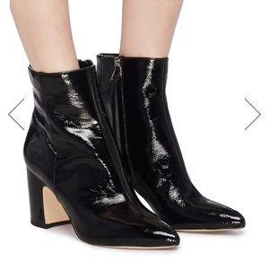 Sam Edelman crinkly black boots